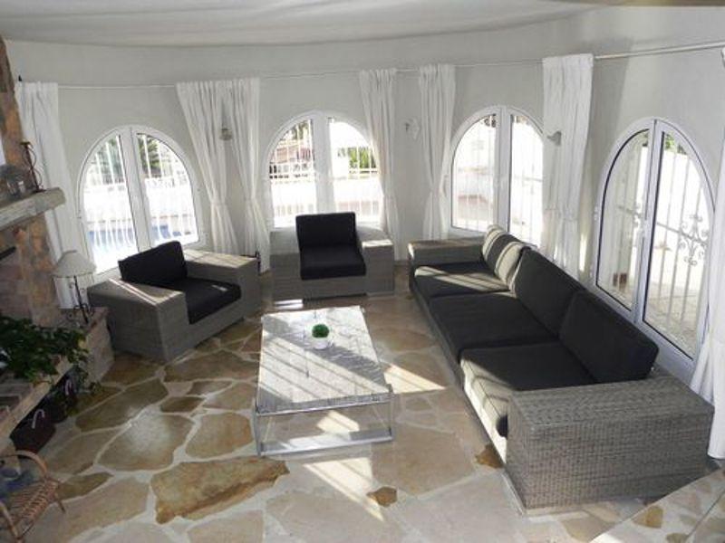 Wohnzimmer Mietobjekt Villa 114094 Calpe
