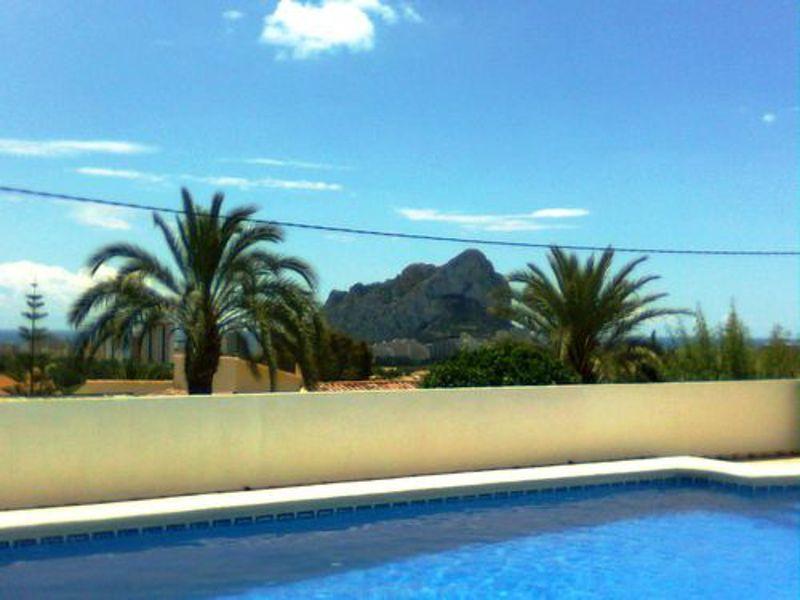 Ausblick von der Terrasse Mietobjekt Villa 114094 Calpe
