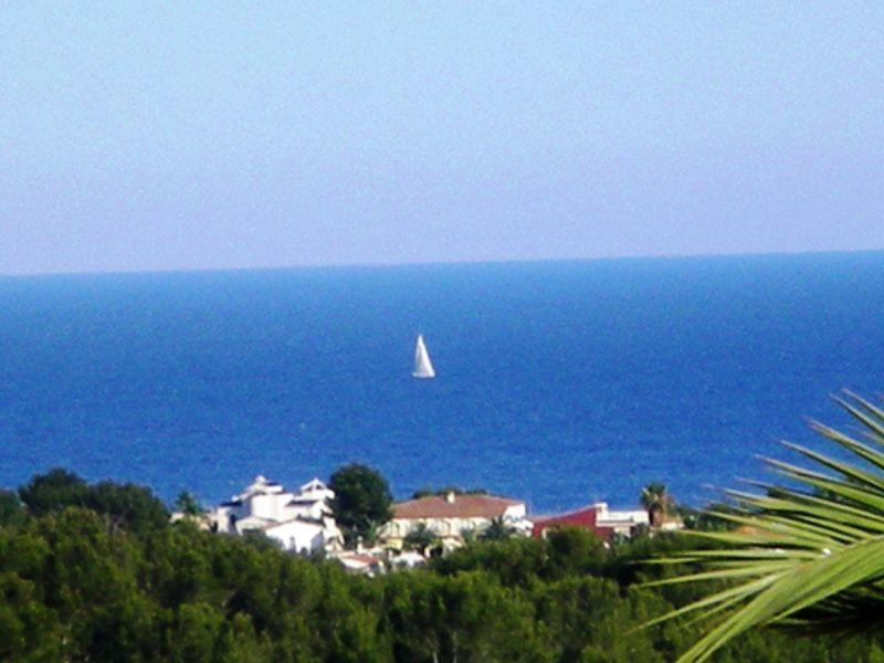 Ausblick aus der Ferienunterkunft Mietobjekt Villa 114094 Calpe