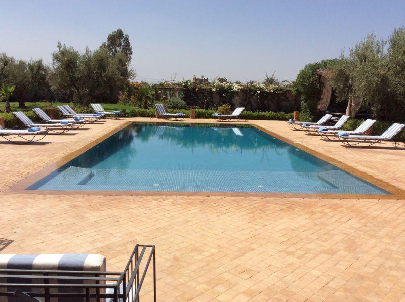 Schwimmbad Mietobjekt Villa 72989 Marrakesch