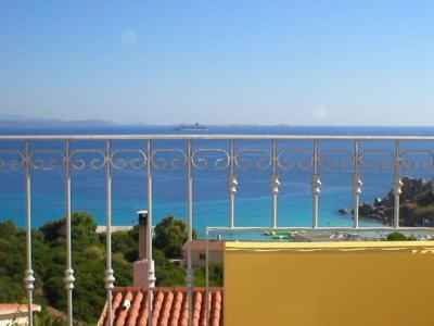 Ausblick vom Balkon Mietobjekt Appartement 74770 Santa Teresa di Gallura