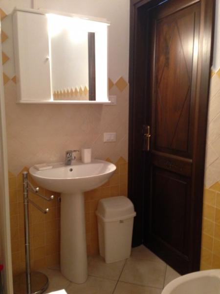 Badezimmer Mietobjekt Appartement 92818 Valledoria
