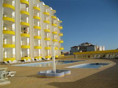 Ausblick vom Balkon Mietobjekt Appartement 107512 Praia da Rocha