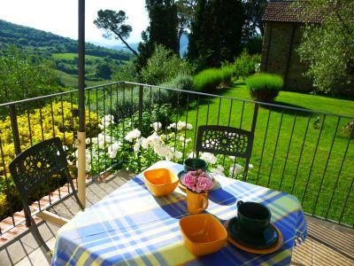 Garten Mietobjekt Villa 110111 Città di Castello