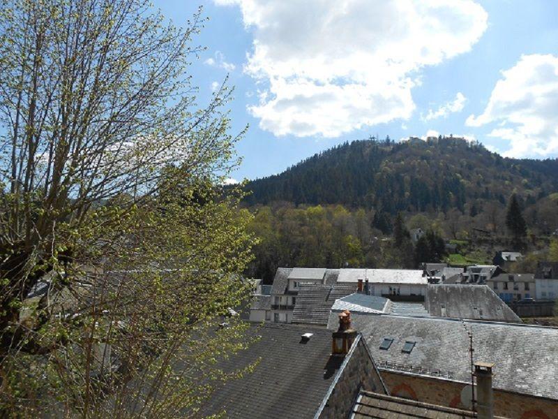 Ausblick vom Balkon Mietobjekt Appartement 115202 La Bourboule