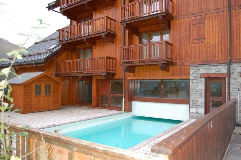 Schwimmbad Mietobjekt Appartement 117722 Valloire