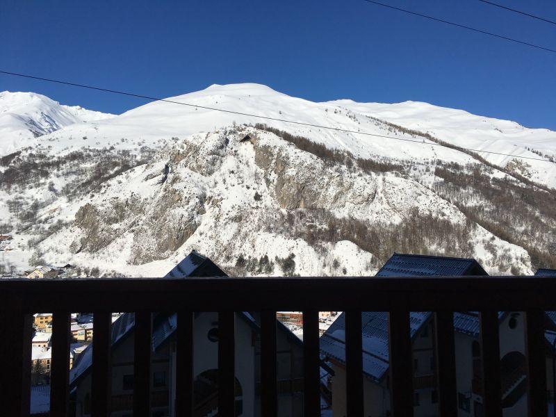 Ausblick aus der Ferienunterkunft Mietobjekt Appartement 117722 Valloire