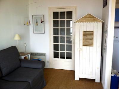 Wohnzimmer Mietobjekt Studio 91352 Hardelot