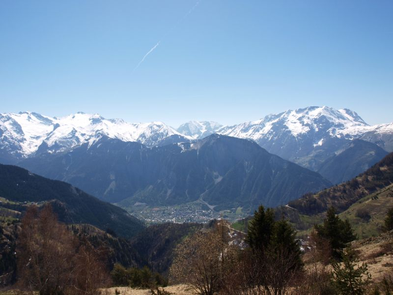 Ausblick vom Balkon Mietobjekt Studio 93111 Alpe d'Huez