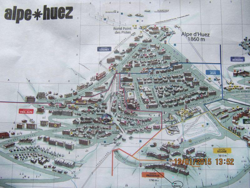 Grundriss des Objektes Mietobjekt Studio 93111 Alpe d'Huez