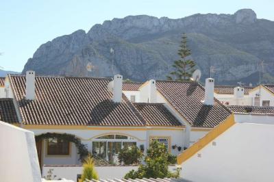 Ausblick von der Terrasse Mietobjekt Bungalow 96902 D�nia