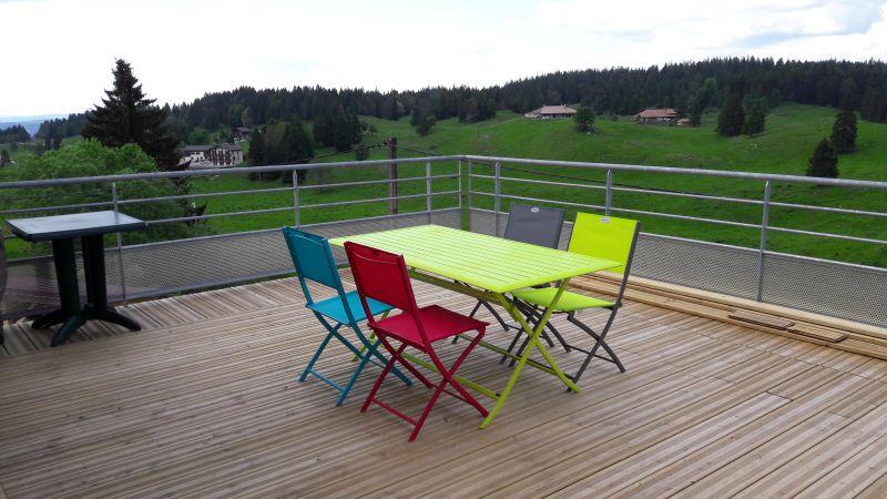 Terrasse Mietobjekt Appartement 106678 Les Rousses
