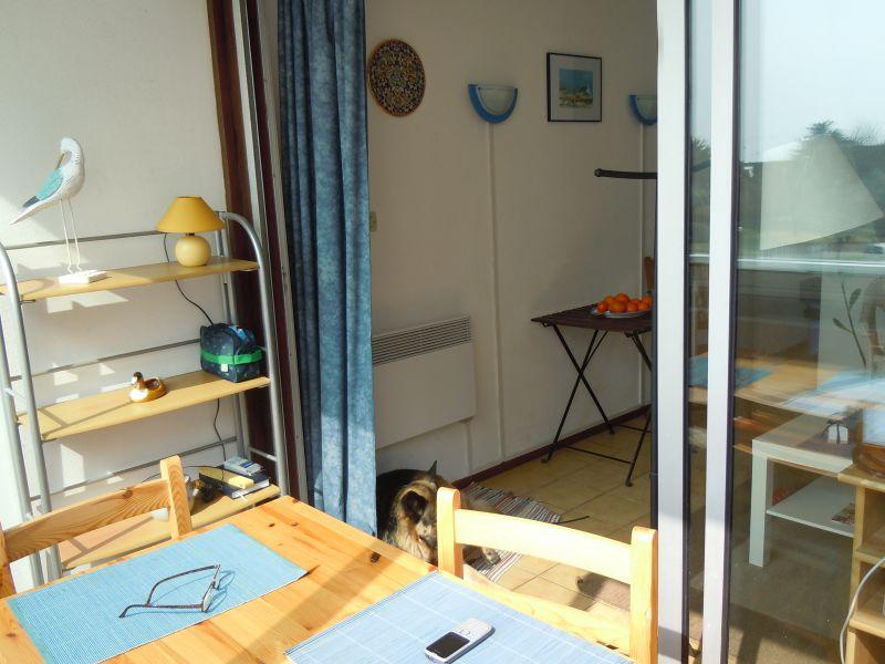 Loggia Mietobjekt Appartement 107688 Quiberon