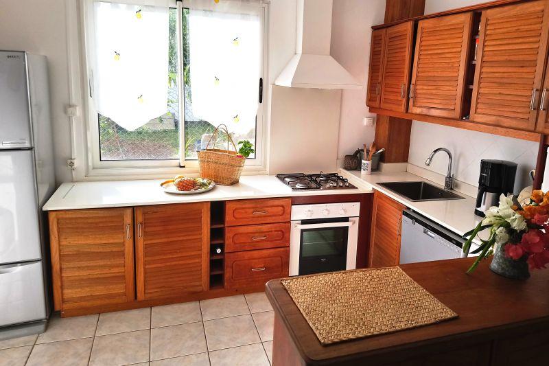offene Küche Mietobjekt Villa 112242 Flic-en-Flac