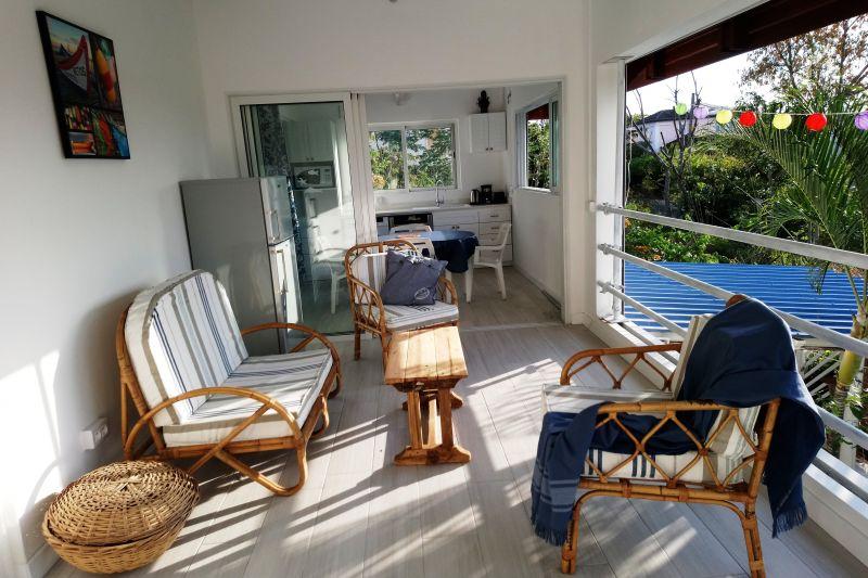 Terrasse Mietobjekt Villa 112242 Flic-en-Flac