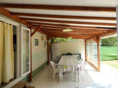 Terrasse Mietobjekt Mobil-Home 114886 La Cotinière