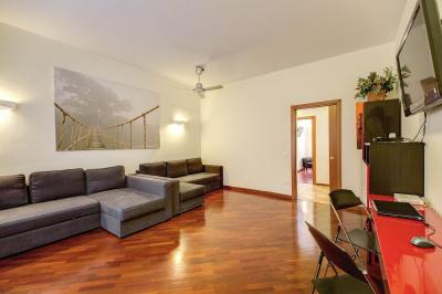Wohnzimmer Mietobjekt Appartement 67093 Rom