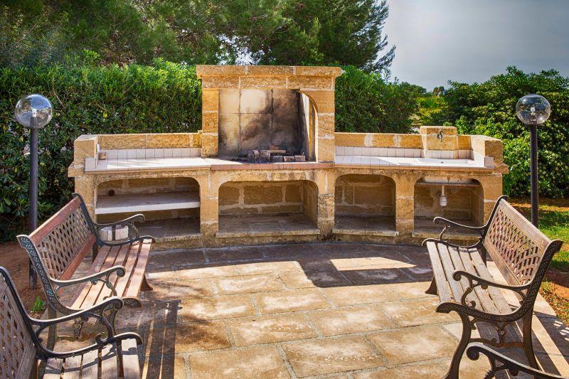Sommerküche Mietobjekt Villa 71459 Gallipoli