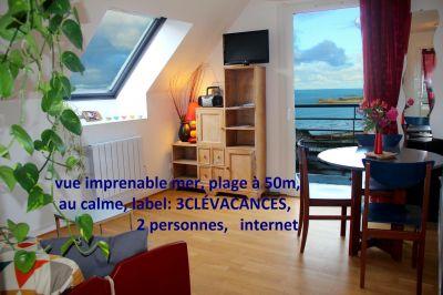 Ausblick aus der Ferienunterkunft Mietobjekt Appartement 79685 Perros-Guirec