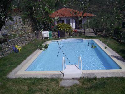 Schwimmbad Mietobjekt Ferienunterkunft auf dem Land 80918 Dolcedo