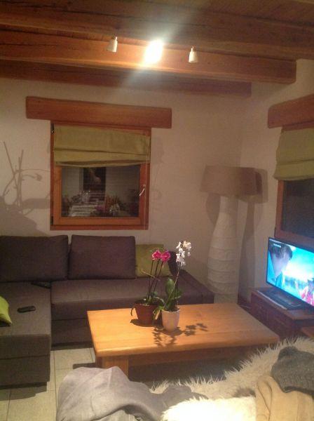 Wohnzimmer Mietobjekt Appartement 100869 Montgenevre