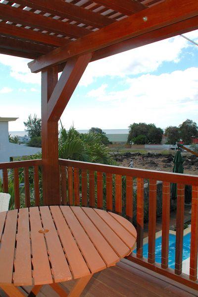 Ausblick vom Balkon Mietobjekt Villa 105203 Tamarin