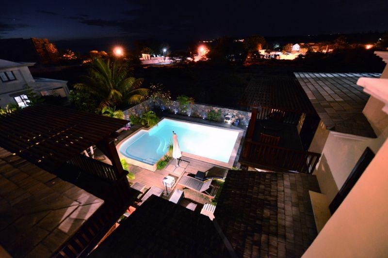 Ausblick von der Terrasse Mietobjekt Villa 105203 Tamarin