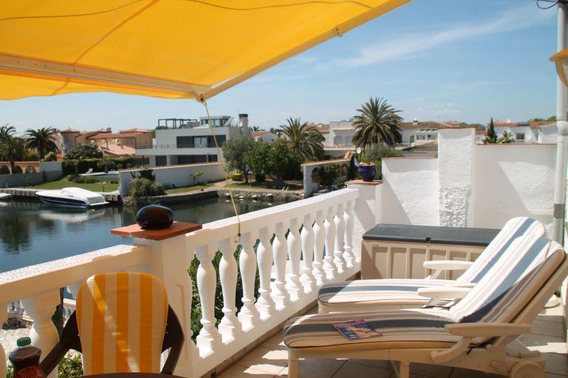 Terrasse Mietobjekt Appartement 109125 Empuriabrava