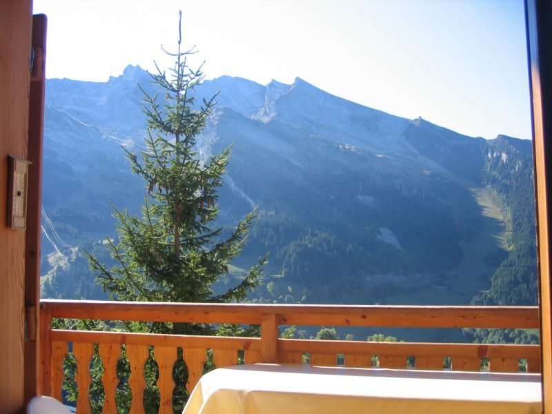 Ausblick aus der Ferienunterkunft Mietobjekt Chalet 112531 La Clusaz