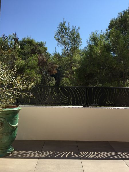 Ausblick von der Terrasse Mietobjekt Appartement 116422 Saint-Gély-du-Fesc