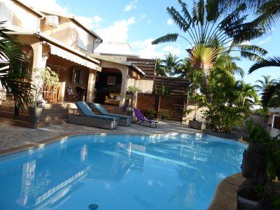 Schwimmbad Mietobjekt Villa 74576 La Saline les Bains