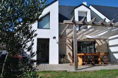 Terrasse Mietobjekt Haus 74855 Quiberon