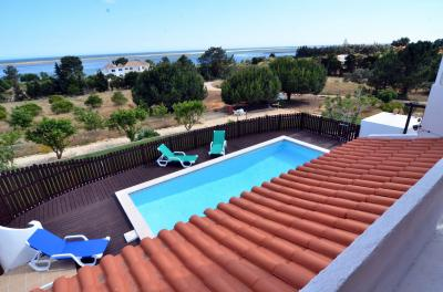Ausblick vom Balkon Mietobjekt Ferienunterkunft auf dem Land 78897 Luz de Tavira