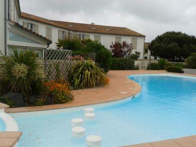 Schwimmbad Mietobjekt Appartement 81402 La Couarde-sur-Mer