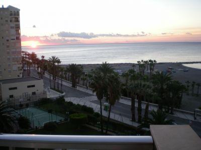 Ausblick vom Balkon Mietobjekt Appartement 105390 Almu�ecar