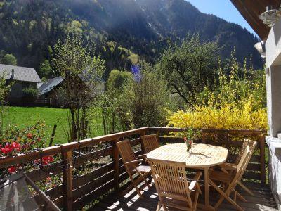 Terrasse Mietobjekt Haus 109557 Vénosc