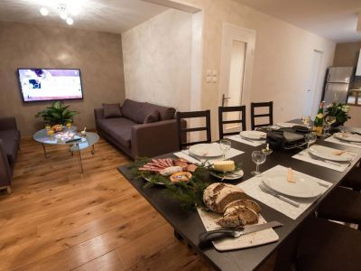 Wohnzimmer Mietobjekt Haus 116678 Xonrupt Longemer