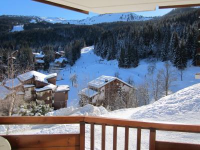 Ausblick vom Balkon Mietobjekt Appartement 73449 La Tania
