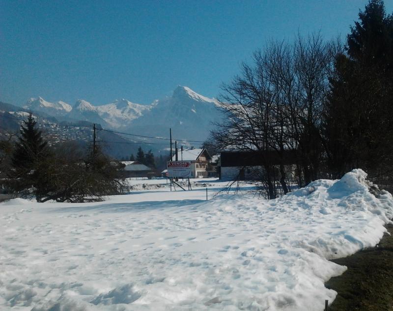 Ausblick aus der Ferienunterkunft Mietobjekt Chalet 74243 Morillon Grand Massif