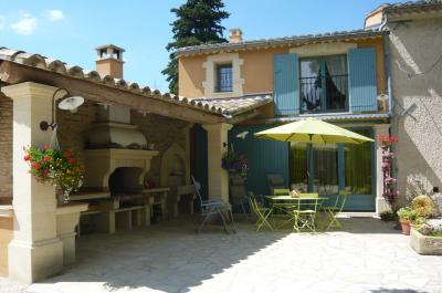 Terrasse Mietobjekt Ferienunterkunft auf dem Land 75163 Avignon