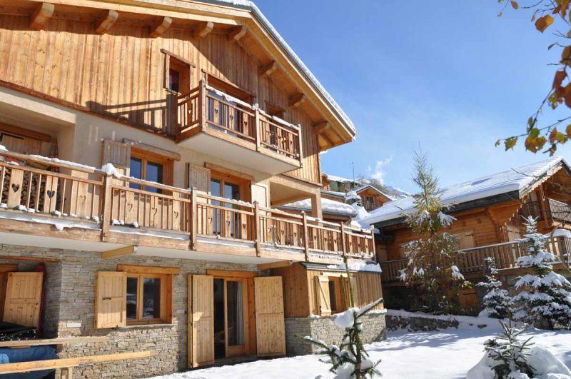 Ausblick von der Terrasse Mietobjekt Appartement 79747 Les 2 Alpes