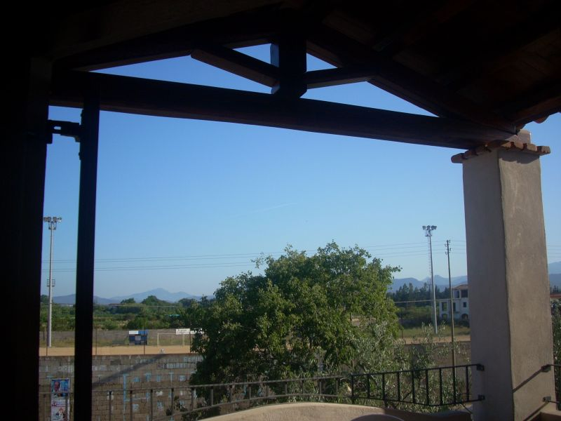 Ausblick vom Balkon Mietobjekt Appartement 84147 Lotzorai
