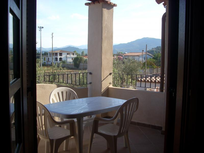 Ausblick von der Terrasse Mietobjekt Appartement 84147 Lotzorai