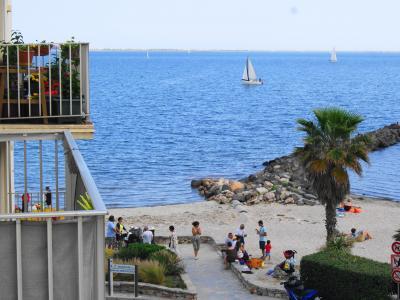 Ausblick vom Balkon Mietobjekt Appartement 98116 M�ze