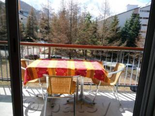 Ausblick vom Balkon Mietobjekt Studio 1166 Les 2 Alpes