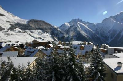 Ausblick vom Balkon Mietobjekt Appartement 1297 Les 2 Alpes