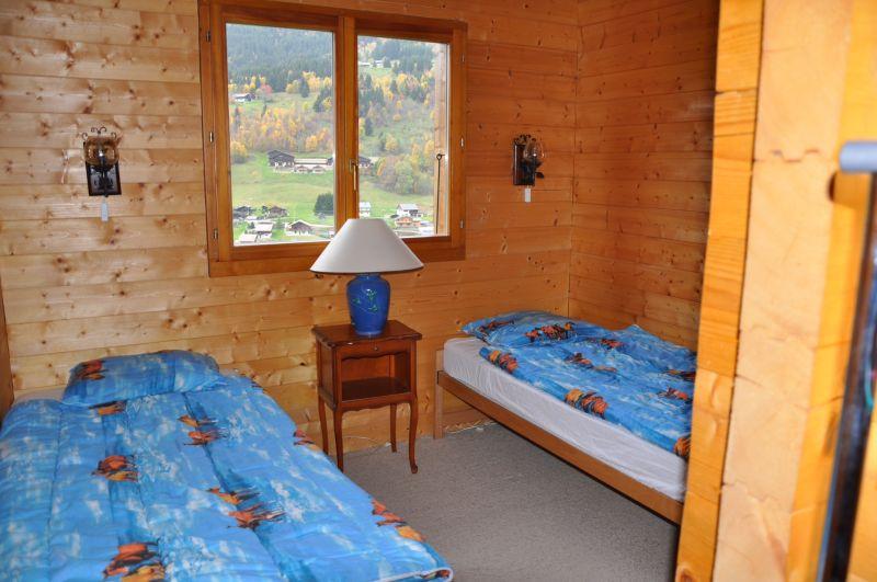 Schlafzimmer 1 Mietobjekt Chalet 1357 Les Gets