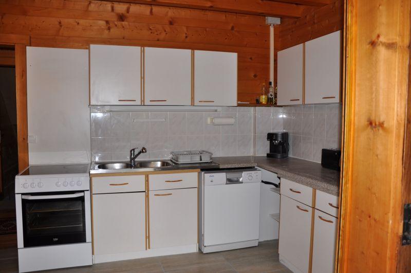 separate Küche Mietobjekt Chalet 1357 Les Gets