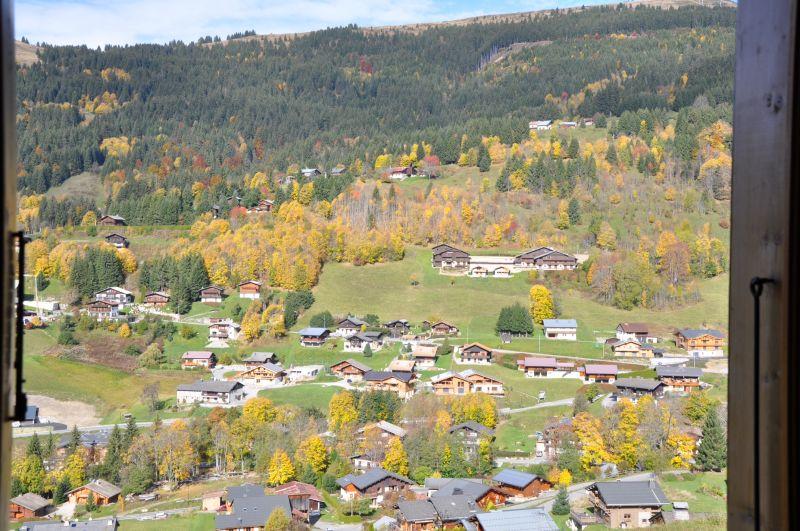 Ausblick aus der Ferienunterkunft Mietobjekt Chalet 1357 Les Gets