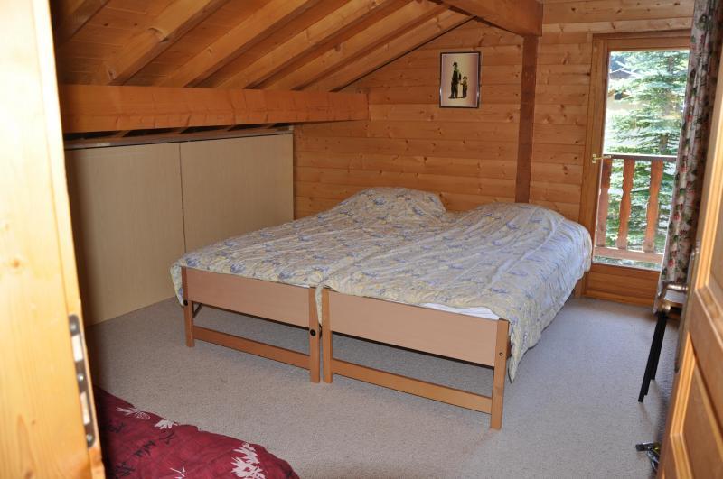 Schlafzimmer 2 Mietobjekt Chalet 1357 Les Gets